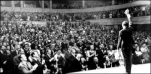 Les adieux de Jacques Brel à l'Olympia en 1966