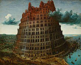 La Tour de Babel par Bruegel l'Ancien