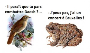 Daesh et Bruxelles