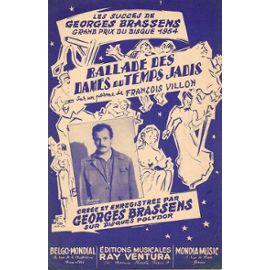 Ballade+des+dames+du+temps+jadis+Georges+Brassens0