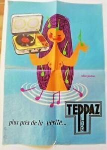 AFFICHE-ORIGINALE-TEPPAZ-LYON-Dessin