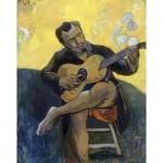 «Le joueur de guitare», Paul Gauguin, c. 1894.