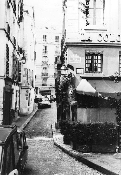 A Paris, sur l'île de la Cité, de 1954 à 1964, La Colombe, le cabaret animé par Michel Valette, a accueilli Guy Béart, Anne Sylvestre, Maurice Fanon, Hélène Martin, ou encore Marc Ogeret. Photo : © Vassia Atanassova.