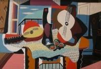 Picasso, «Mandoline et guitare», 1926.