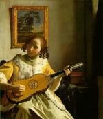 La joueuse de guitare, Johannes Vermeer (1632-1675)