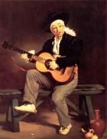 Le joueur de guitare, Edouard Manet, 1860