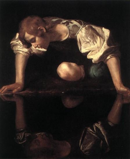 Narcisse (Le Caravage)