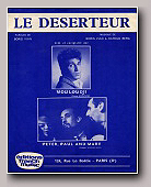 partition_le_deserteur_peter_paul_and_mary